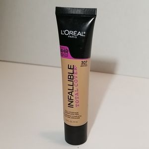 Infallible total cover 24 hr foundation